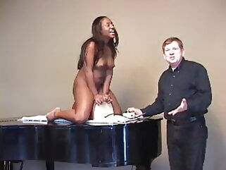 Ebony Stripper Gets Creamy Pussy After Sybian Ride interracial tukif amateur