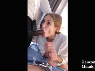 Business Hot Wife has Threesome Fun in the Hotel blowjob tukif blonde